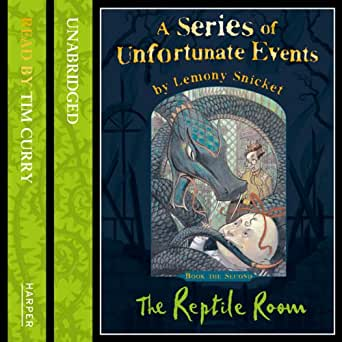 Amazon Com The Reptile Room A Series Of Unfortunate Events Book 2