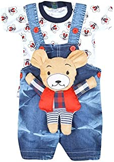 98a6dc0532b Kuchipoo Unisex Regular Fit Cotton Dungaree  Amazon.in  Clothing ...