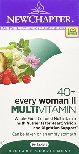 NEW CHAPTER EVERY WOMEN II MULTIVITAMINS 192 (2 packs of (2 New Daily Multivitamin)