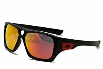 ab933da87b Image Unavailable. Image not available for. Color  Fox Racing The Remit  Sunglasses Matte Black Ruby Lens