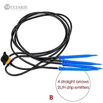 Pinkdose® Ab102Csx1Pcxb: Muciakie 1Pc Drip Arrow Automatic Watering