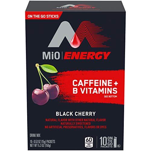 Energy Powdered Drink Black Cherry