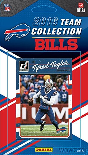 - Buffalo Bills 2016 Donruss NFL Football Factory Sealed Limited Edition 15 Card Complete Team Set with Tyrod Taylor, LeSean McCoy, Sammy Watkins, Legend Jim Kelly & Many More! Shipped in Bubble Mailer!