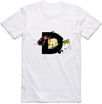 Letter D T-Shirt for Men