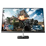 2018 HP N270h 27' Full HD 1920 x 1080 at 60Hz IPS LED Backlight Gaming Monitor, 16:9, 5 Ms, 1,000:1, 250 Nit, 16.7 Million Colors, Anti-Glare, HDMI/VGA