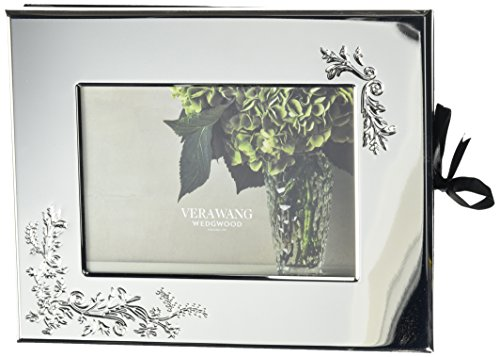 Wedgwood Vera Lace Bouquet Guest Book Photo Frame, 5 x 7 (English Wedgwood)