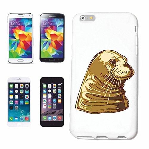 caja del teléfono Huawei P9 SEA LION SELLO DE LA MANERA DE VIDA STREETWEAR HIPHOP SALSA LEGENDARIO Caso duro de la cubierta Teléfono Cubiertas cubierta para el Apple iPhone en blanco