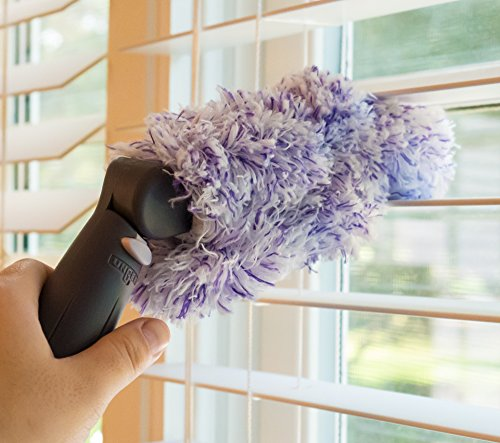how to clean blinds easily