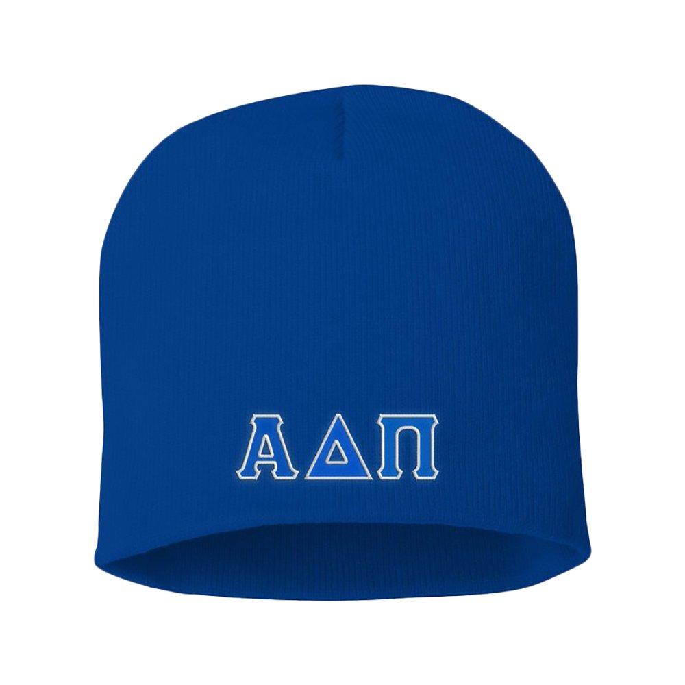 Alpha Delta PI Big Greek Lettered Skull Cap Royal Blue at Amazon Women s  Clothing store  51cff7dfc572