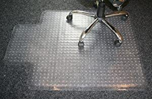 carpet protector home office chair spike mat non slip clear frosted