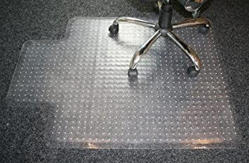 durable pvc home office chair. carpet protector home office chair spike mat non slip clear frosted pvc 910x1220 durable pvc f