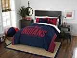 Sporting Goods : Officially Licensed MLB Cleveland Indians Grandslam Full/Queen Comforter and 2 Sham Set