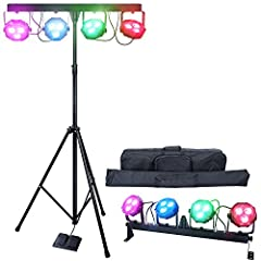 The PartyBar lighting system - By Lighting GeekThe PartyBar lighting system is an exciting all-in-one LED Wash system for mobile entertainers bands and stage lighting. Dynamic ready-to-go LED Stage Light Package for stage performance, pubs or...