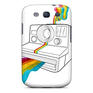Galaxy S3 Case Cover - Slim Fit Tpu Protector Shock Absorbent Case (instagram)