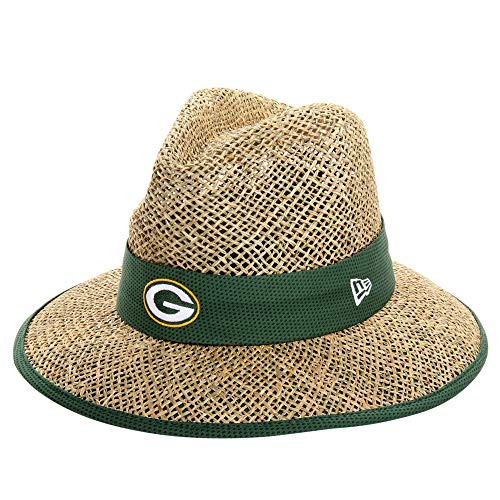 Green Bay Packers New Era NFL 2015 Training Camp Sideline Straw Hat