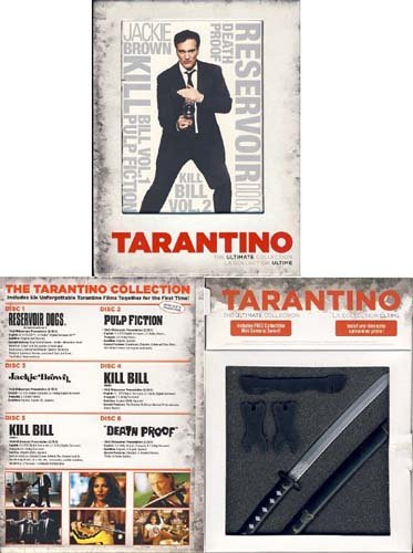 Quentin Tarantino - The Ultimate Collection (Boxset) (Collection Jordan Ultimate)