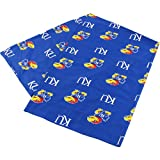 College Covers Kansas Jayhawks Pillowcase Only-Body Pillow, 20'' x 60'', Blue