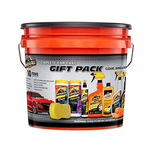 Armor All Pack Bucket, Pack (Armor All Ultimate 10 Item Car Care Gift Pack)