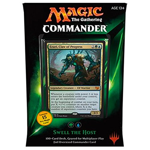 MTG Commander 2015 Edition Magic the Gathering - Swell the Host Green Blue Deck New Sealed Photo