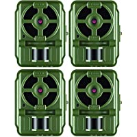 Primos 10MP Proof Cam 01 HD Trail Camera with Low-Glow LEDs, Green - Set of 4