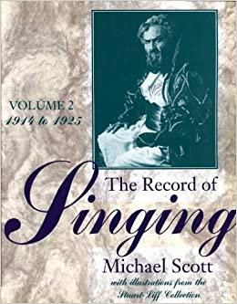 Book The Record of Singing by Michael Scott (1993-04-26)