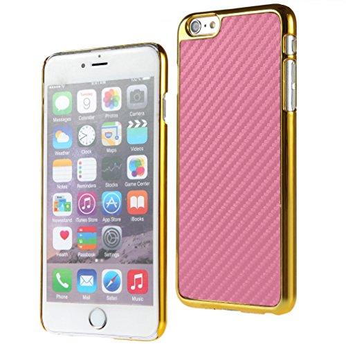 Bralexx Case für Apple iPhone 6 Plus 14 cm (5,5 Zoll) gold/rosa/carbon