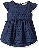 Lucky Brand Toddler Girls' Short Sleeve Fashion Top, Arianna Dark Denim, 3T