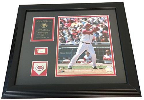 Adam Dunn, Cincinnati Reds - Commemorative 17x15 Framed and Matted Piece