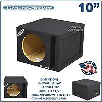 10 Single ported speaker box