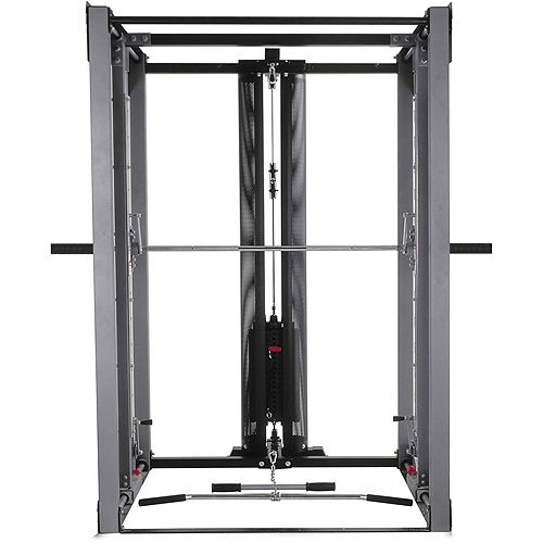 BodyCraft Jones Light Commercial with Lat Attachment and 7in Power Bar
