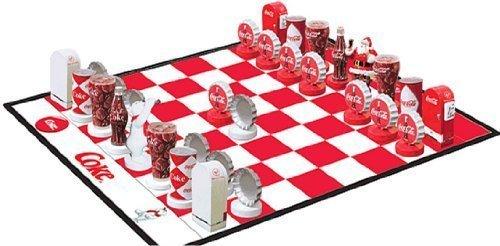Coca-Cola Chess Board Game by Coca-Cola