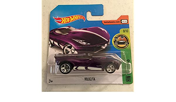 Amazon.com: 2017 Hot Wheels Super Treasure Hunt Velocita Purple [(Short) International Card] VHTF: Toys & Games