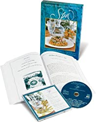 Spa: Favorite Recipes from Celebrated Spas, Soothing Classical Piano Music (Cookbook & Music CD Boxed Set)