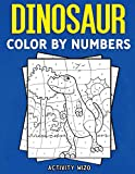Dinosaur Color By Numbers: Coloring Book for Kids