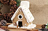 Frjjthchy 6 Pcs Stainless Steel Christmas House Gingerbread Mold Creative Chocolate House Kit
