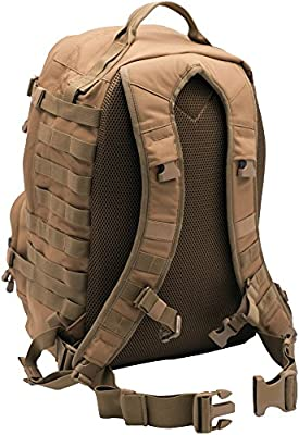 3 Day Tactical Backpack 2.0 by LAPG. Designed and Used by Active Duty Military Personnel. Mil-Spec Materials.