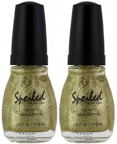 File Champagne (WET N WILD Spoiled Nail Color CHAMPAGNE SIREN (PACK OF 2) (Plus a Free Nail File From fetish for Natural Nails And Nail Tips))