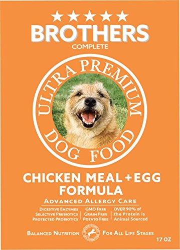 Brothers Complete Chicken Meal and Egg Dog Food 17 oz