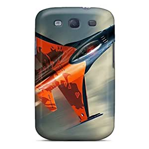 DaMMeke BKPOdRQ7427LZnFs Case Cover Galaxy S3 Protective Case F16 Fighting Falcon Fighte Aircraft