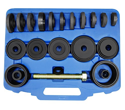 Astro Pneumatic Tool 78825 Master Front Wheel Bearing Adapter Puller Kit W/Grade 8 Drive ()