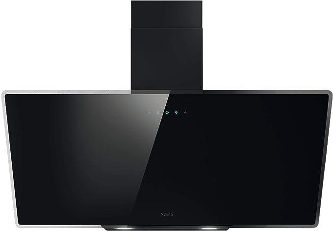 Elica Shire BK/A/90 De pared Negro B - Campana (Canalizado, 60 dB, 55 cm, 70 cm, De pared, Negro): Amazon.es: Grandes electrodomésticos