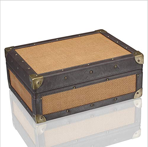 $177.55 antique humidor LHFJ Cigar Humidor Cedar Wooden Cigar Organiser Antique Mat Pattern Portable Cigar Box for Business,Travel, Capacity 50 2019