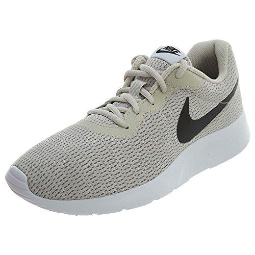 Nike Men's Tanjun Running Sneaker Light Bone/Black-White 11.5