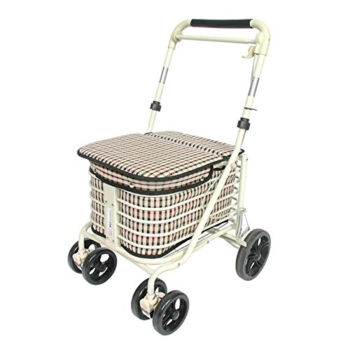 Seated Shopping Trolley (Navy) Prestige Engineering