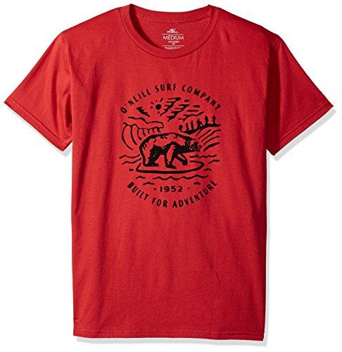 O'Neill Men's Cali Modern Fit T-Shirt, Roamer Red, M
