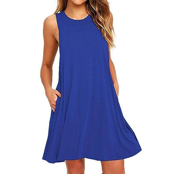 Sommerkleid spitze blau