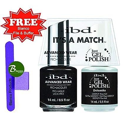 IBD es un partido uñas Gel, dolomita: Amazon.es: Belleza