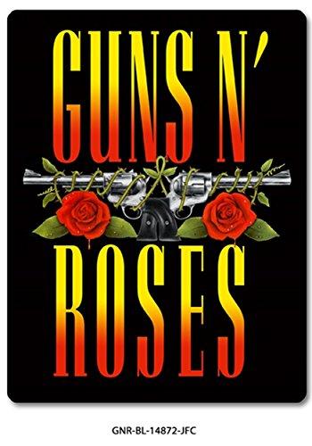 Roses Banner Guns N (Guns N Roses Fleece  Throw Blanket  / Tapestries Decorative Wall Hanging  - Gift , Sofa / Bed Kids  Blanket)