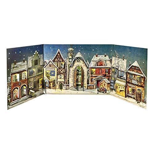 (Sellmer Little Town from 1946 Advent Calendar)