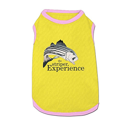 (The Striper Experience Puppy Dogs Shirts Costume Pets Clothing Warm Vest T-shirt)